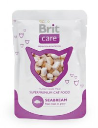 Brit Care Cat kapsa Seabream Pouch 80g (pražma)