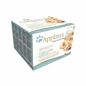 Applaws konzerva Cat MultiPack 12x70g - Mix chutí
