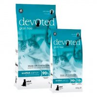 DEVOTED Cat Scottish Salmon - losos s rybami