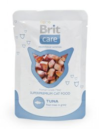 Brit Care Cat kapsa Tuna Pouch 80g (tuňák)