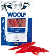 WOOLF Soft Duck Jerky Fillet 100g - kachní maso - filet