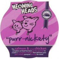 Meowing Heads Purr-Nickety 85 g (losos & kuřecí)