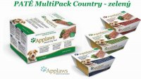 Applaws Paté Dog MultiPack COUNTRY 5 x 150g - zelený